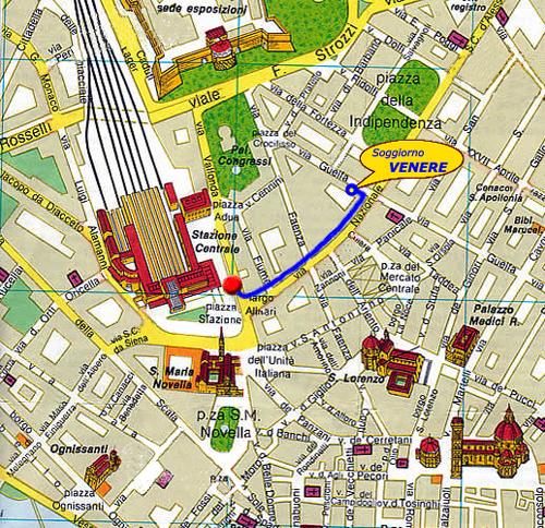 Soggiorno Venere - cheap accommodation in Florence
